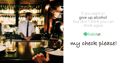 My check please!